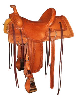 Old Timer Lieuallen Roping saddle