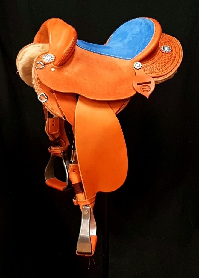 Used Western Stock saddle