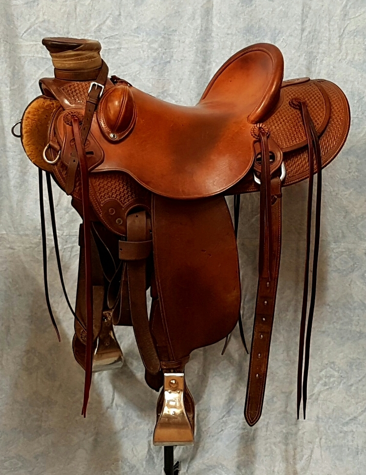 Used Bethel Saddlery Wade saddle
